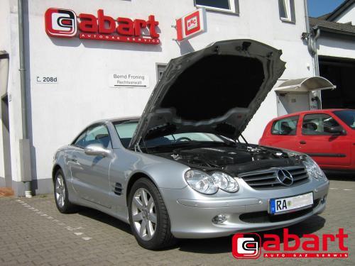 Mercedes-Benz SL-500-Cabrio
